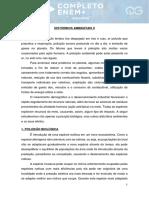 DISTÚRBIOS AMBIENTAIS II