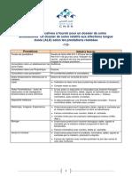 Pièces justificatives à fournir pour un dossier de soins ambulatoires ou soins relatifs aux affecctions longue durée (ALD)