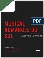 Projeto musicais do Sul