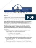 Comprehensive Paid Leave for Federal Employees Act