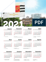 Calendário TJ 2021