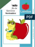 6to Grado - Cuadernillo de Ejercicios (noviembre)