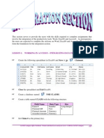 CaFSET (Antigua) Office Workbook - Sixth Edition - Integration Sample Pages