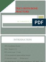 Pediatrics both bone fracture and galazzi fracture