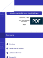Adhesion Adherence 2009