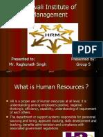 hrm presentation