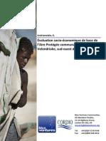 Évaluationsocio‐économiquedebasedel'AireProtégéecommunautaireVelondriake,sud ouestdeMadagascar - 2008