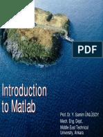 Mat Lab Intro