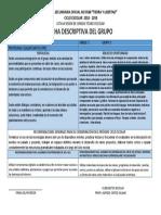 Ficha Descriptiva de Grupo 3e