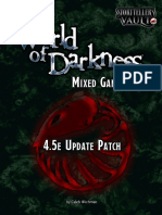 Classic World of Darkness Mixed Game Rules 4.5e Update Patch - WoD  1_12_2021