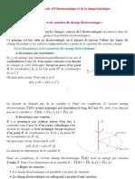 Formulation locale d'électrostatique et de la magnétostatique