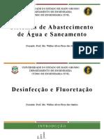 Aula 14 - Desinfeco e Fluoretao