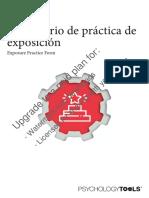 Formulario de Practica de Exposicion