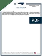North Carolina State Profile Report 20210124 Public