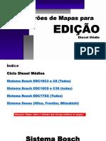Apostila de Pradrões de Mapas Ciclo Diesel Médios