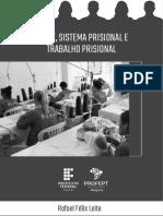 PE - Crime, sistema prisional e trabalho prisional