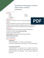 Roteiro de Semiologia (OFTALMOLOGIA)