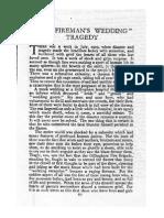 The Fireman's Wedding Tradedy