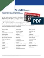 Diversity Journal   2010 Diversity Leader Award