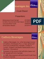 Cadbury Beverages Inc