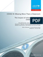 COVID-19 Missing More Than a Classroom the Impact of School Closures on Childrens Nutrition