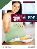 La salubrité des aliments pour les femmes enceintes