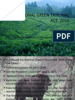 NATIONAL GREEN TRIBUNAL ACT, 2010 1