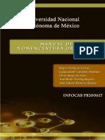 Manual de Nomenclatura Orgánica