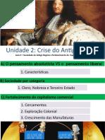 Crise do antigo Regime