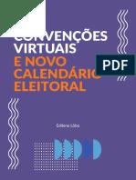 CARTILHA CONVENÇÕES VIRTUAIS E NOVO CALENDÁRIO