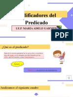 SEXTO GRADO MODIFICADORES  DEL PREDICADO