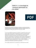 2 CASOS DE ESTUDIO PARA METROLOGÍA