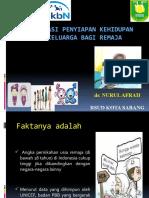Orientasi penyiapan kehidupan beRkeluarga bagi remaja
