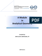 Module Chapter1 Analytical Geometry
