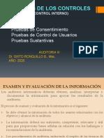 UNIDAD No. 3 - TEMA 3 Pruebas de Los Controles Generales -Control Interno