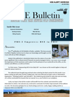 PME-2 HSE Bulletin - Rev 0