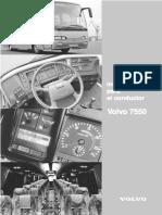 conductores Volvo 7550