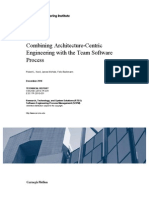 Combining Architecture-Centric Engineering with the Team Software Process