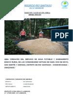 informe de calidad ENERO 2021