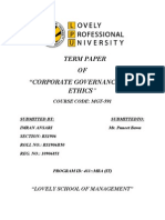 Corporate Governance Of Wipro