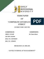 Corporate Governance Of Wipro