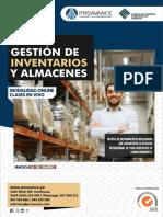 PDA GESTION DE INVENTARIOS Y ALMACENES - I 2021