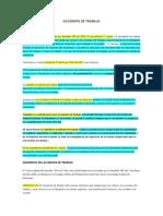 ACCIDENTE DE TRABAJO concepto y generalidades2