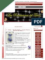 8 - Cailag - Ocho De Espadas - Arcanos Menores - Tarot De Las Hadas - - Las Revelaciones del Tarot