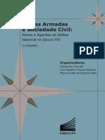 Forcas Armadas e Sociedade Civil Atores