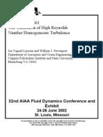 AIAA-2002-2861 Makita Turbulence Generator