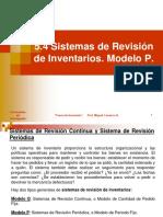 Sistemas Rev Inventarios. Modelo P
