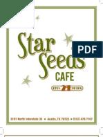 Star Seeds Menu