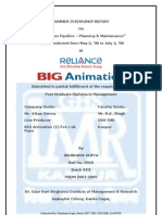 SIP @ BIG Animation (I) Pvt Ltd
