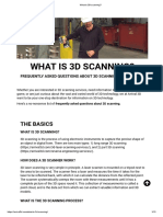 What is 3D Scanning